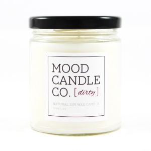 MOOD CANDLE CO. DIRTY CANDLE