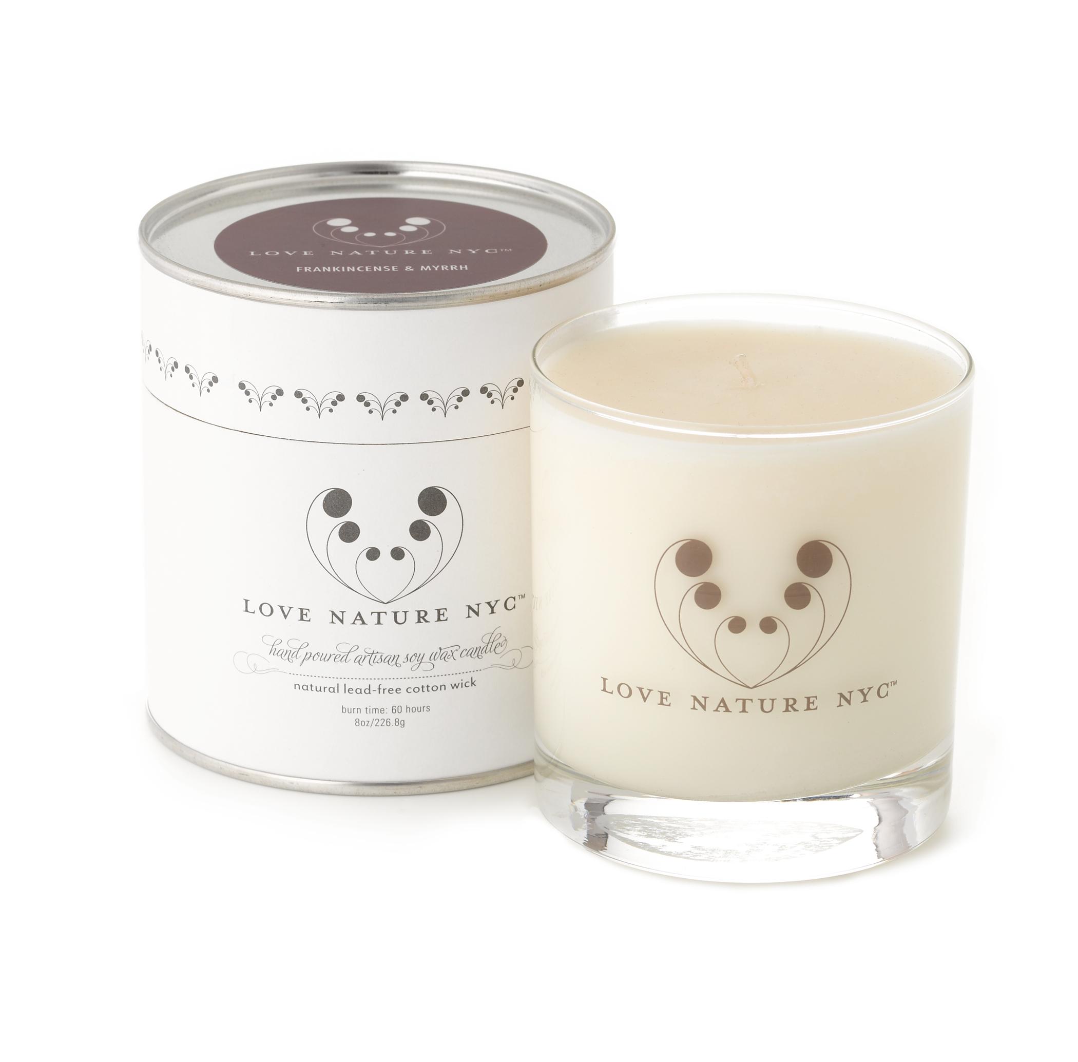 Frankincense & Myrrh Candle – JG & CO. Handcrafted Natural Artisan ...